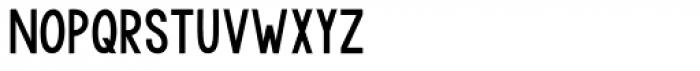 KG Modern Monogram Plain Font LOWERCASE