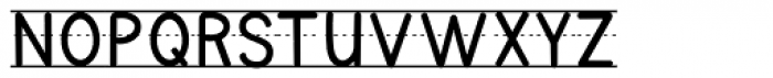 KG Primary Penmanship Lined Font UPPERCASE