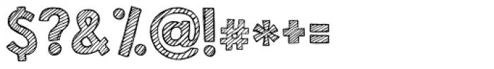 KG Second Chances Sketch Font OTHER CHARS