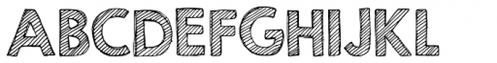 KG Second Chances Sketch Font UPPERCASE