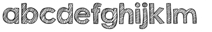 KG Second Chances Sketch Font LOWERCASE