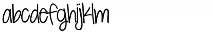 KG Seven Sixteen Font LOWERCASE