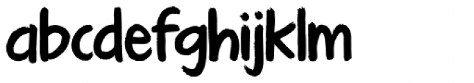 KG Turning Tables Font LOWERCASE