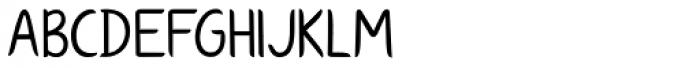 KG Ways To Say Goodbye Font UPPERCASE
