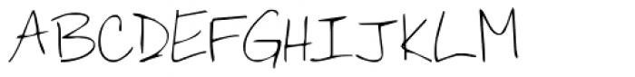 KG You Wont Bring Me Down Font UPPERCASE