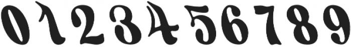 KH FILLMORE Regular otf (400) Font OTHER CHARS