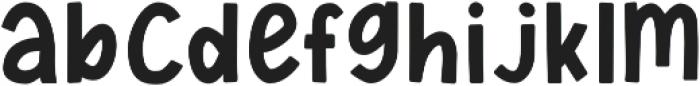 KH Friday Feels otf (400) Font LOWERCASE