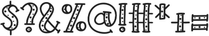 KH Prickles Spotty Complete otf (400) Font OTHER CHARS
