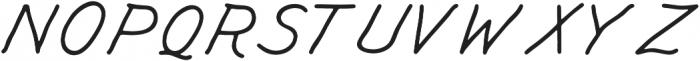 KH SOBER DRAFTSMAN Hand Lettered otf (400) Font UPPERCASE