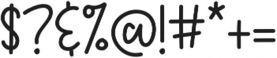 KHFruityPatootieSans Sans otf (400) Font OTHER CHARS