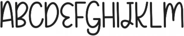 KHFruityPatootieScript Script otf (400) Font UPPERCASE