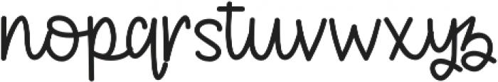 KHFruityPatootieScript Script otf (400) Font LOWERCASE
