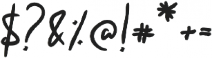 Khalid Regular otf (400) Font OTHER CHARS