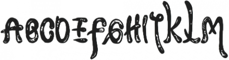 Khalindha otf (400) Font UPPERCASE