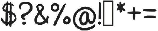 Kharu ttf (400) Font OTHER CHARS