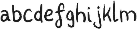 Kharu ttf (400) Font LOWERCASE