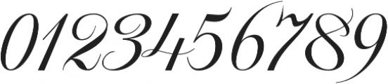 Khatija Calligraphy otf (400) Font OTHER CHARS