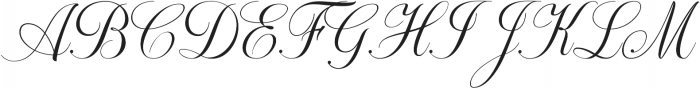 Khatija Calligraphy otf (400) Font UPPERCASE