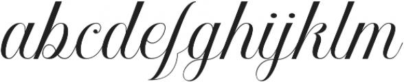 Khatija Calligraphy otf (400) Font LOWERCASE