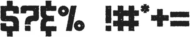 Khepri Textured otf (400) Font OTHER CHARS