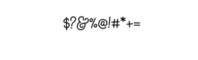 KHAnnabelle-Medium.otf Font OTHER CHARS