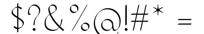 KH Erza Script Font OTHER CHARS