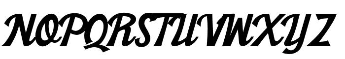 Khadija New Font UPPERCASE