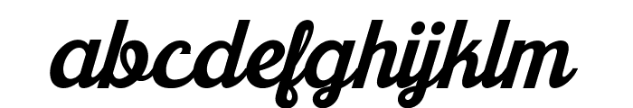Khadija New Font LOWERCASE