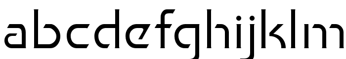 Khan Fill Font LOWERCASE