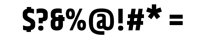 Khand-Black Font OTHER CHARS