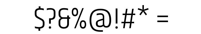 Khand-Light Font OTHER CHARS