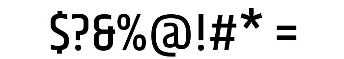 Khand Medium Font OTHER CHARS