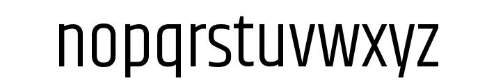 Khand-SemiLight Font LOWERCASE