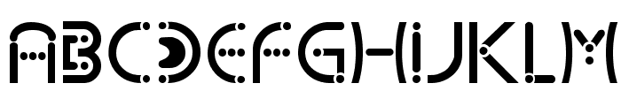 Kharnorric Royal Font UPPERCASE