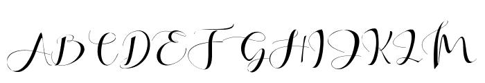 Khatmadu Font UPPERCASE