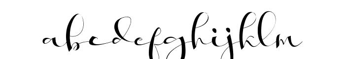 Khatmadu Font LOWERCASE