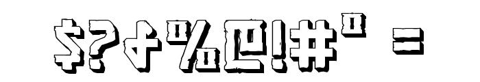 Khazad-Dum 3D Font OTHER CHARS