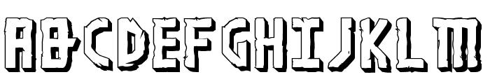 Khazad-Dum 3D Font UPPERCASE