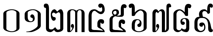 Khek Sangker Font OTHER CHARS