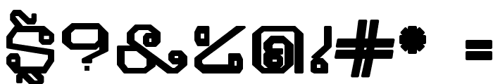 Khmer Bold Font OTHER CHARS