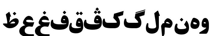 Khorshid  Font Font LOWERCASE