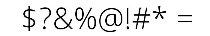 Khula Light Font OTHER CHARS
