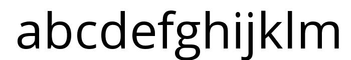 Khula Font LOWERCASE