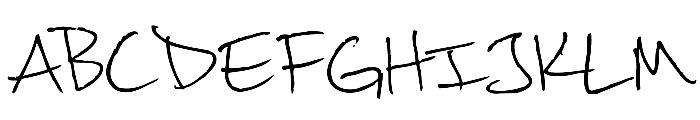 khand Font UPPERCASE