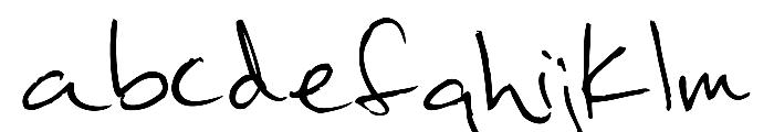 khand Font LOWERCASE