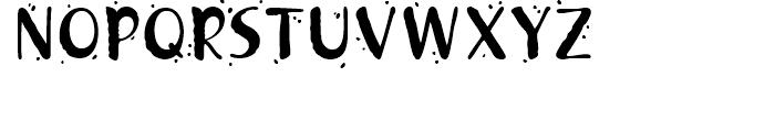 Khaki 2 Font UPPERCASE
