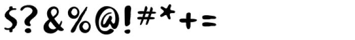 Khaki Alternate Font OTHER CHARS