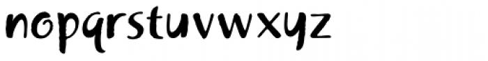 Khaki Alternate Font LOWERCASE