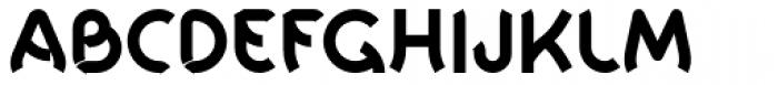 Khamai Pro Bold Font UPPERCASE