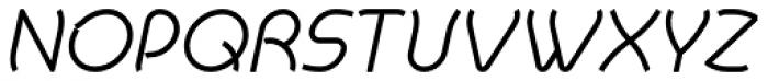 Khamai Pro Light Italic Font UPPERCASE